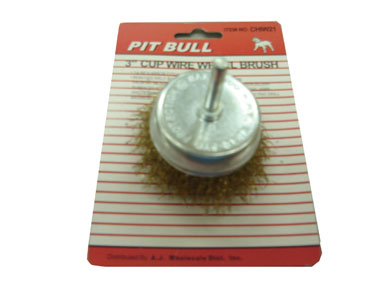 Brush Cup Wire 3""