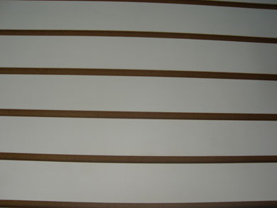 Slotted Wallboard